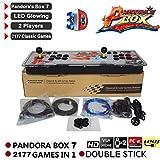seasaleshop Pandora Box Key 7 Arcade Spiele Game Joystick Spielkonsole Home Arcade Konsole, 1920 *...