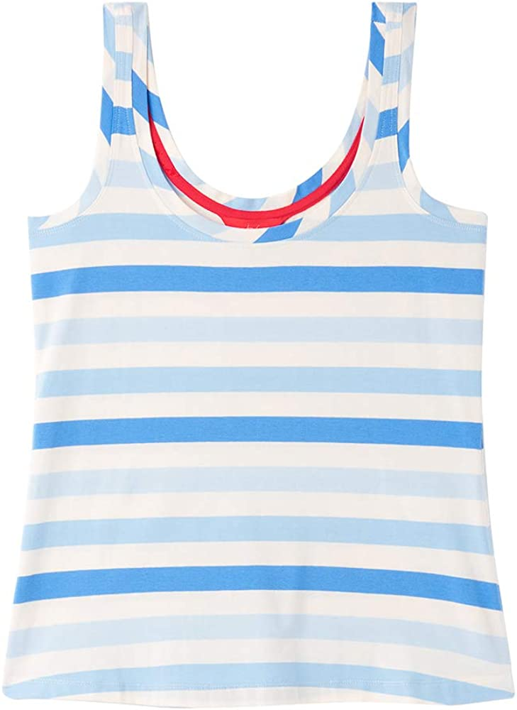 Joules Annika Stripe Womens Tank Vest