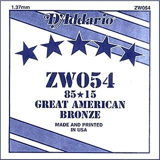 D'Addario ZW054 85/15 Bronze Acoustic Guitar Single String