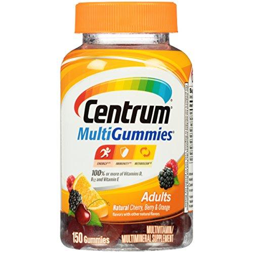 Centrum MultiGummies Multivitamin / Multimineral Supplement Gummies