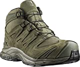Salomon Men's XA Forces Mid Backpacking Boot, Ranger Green, 12
