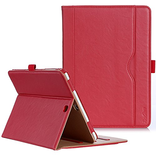 acheter avis Includes ProCase Samsung Tab S2 9.7 inch case (T810 T813 T815), PU leather protective case, ProCase stylus, multi-angle automatic sleep / wakeup function