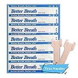 Tiras Nasales Antironquidos Nariz- 50 Tiritas Breathe Right - Remedios para no roncar - Respirador Contra Ronquidos y Mejora Calidad del Sueo - Nasal Strips Deportivas