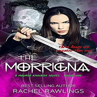 The Morrigna audiobook cover art