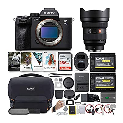 Sony Alpha a7S III Mirrorless Digital Camera with 12-24mm G-Master Lens Bundle (6 Items) by Sony