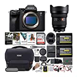 Sony Alpha a7S III Mirrorless Digital Camera with 12-24mm G-Master Lens Bundle (6 Items)