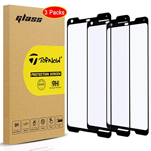 Topnow [3 Packs] for Google Pixel 2 XL Schutzfolie,Ultra-klar Displayschutzfolie,9H Härte Gehärtetes panzerglas,Keine Blasen Screen Protector for Google Pixel 2 XL