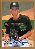 Wes Anderson autographed baseball card (Florida Marlins Kane County Cougars FT) 2000 Just Minors #5 - MLB Autographed Baseball Cards
