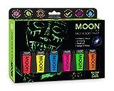 Best Glow In The Dark Body Paints - Moon Glow - Glow in the Dark Face Review