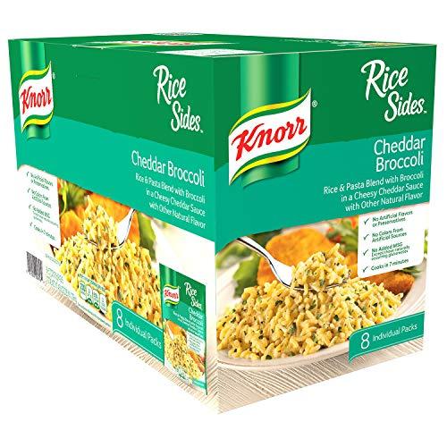 Knorr Knorr Broccoli cheddar Rice 8 X 5.7 Ounce Total Net Wt 45.6 Ounce , 45.6 Ounce