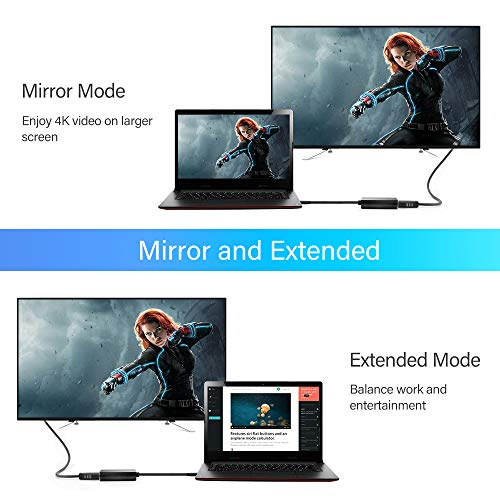HOPLAZA USB 3.0 zu HDMI Adapter,USB zu HDMI 1080P Full HD Video Audio Multi Monitor Adapter Konverter kompatibel mit Laptop HDTV TV Windows 7/8/10 PC nur (NO Mac & Vista)