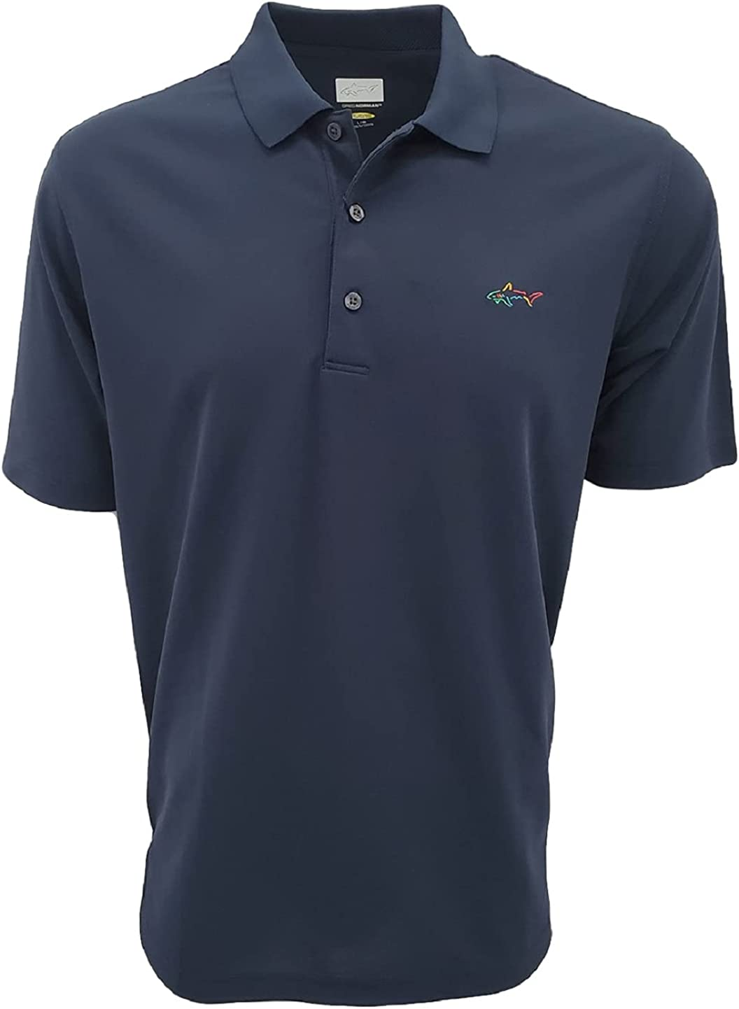Greg Norman Men's Technical Performance Tucson Mall half Polyester Polo Dry Play