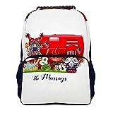 School Travel Backpack Ideal Versatile Shoulder Bag Backpack Music Festival of Beating Gong and Drum...