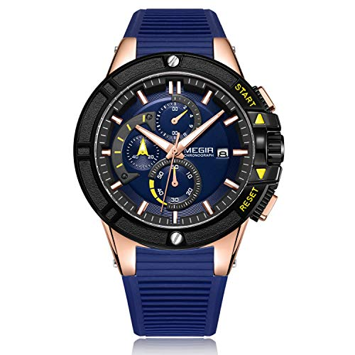 Megir - Herren -Armbanduhr- TT-MG-2095