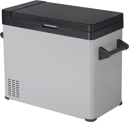 WOLTU Mini Réfrigérateur Portable 60L Glacière pour Auto 12/24V et 220-240V Congélateur de Voiture Petit Frigo Campin...