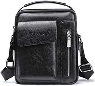 Men's Shoulder Bag Men's Retro Leather Shoulder Bag Messenger Bag Small Bag Shoulder Bag Men Outdoor Sports Bag