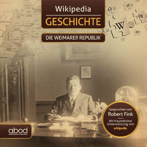 Die Weimarer Republik Titelbild