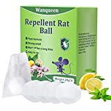 4 Pack Mouse Repellent, Mice Repellent Peppermint Oil for Rodents Pest Insect Control Repel Rat Spider Cockroach