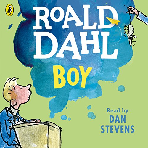 Boy audiobook cover art