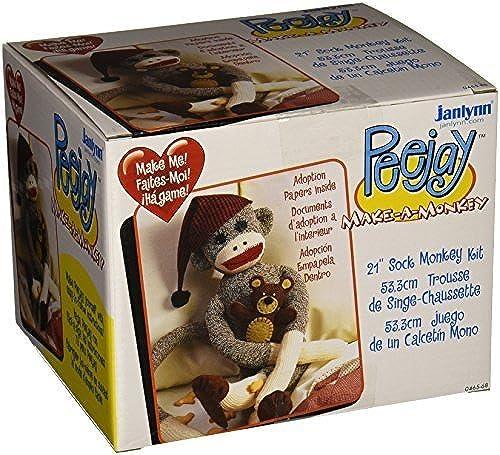 punto de venta en línea Janlynn Peejay The Sock Monkey by Janlynn Janlynn Janlynn  venta directa de fábrica