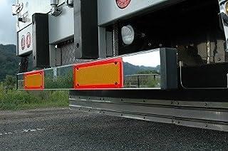 【トラック外装・架装用品】いすゞ新型ギガ[H22/5~現行] に ミラクルプレート【ミラータイプ】ミラータイプパーツで車外リアバンパーをドレスアップ