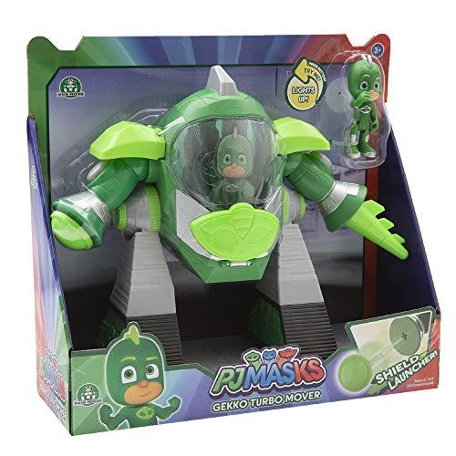 Giochi Preziosi - Pj Masks Geco Veicolo Turbo Movers con Personaggio