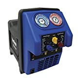 MASTERCOOL (69300 Black/Blue Twin Turbo Refrigerant Recovery System