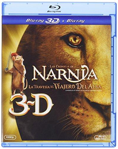 Las Cronicas De Narnia 3 [Blu-ray 3D+ Blu-ray + DVD + Digital Copy] [Spanien Import]