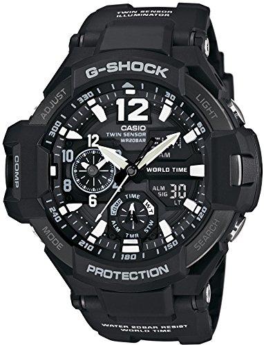 [カシオ] 腕時計 ジーショック GRAVITYMASTER GA-1100-1AJF ブラック