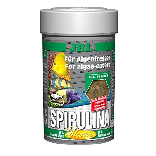 JBL Premium Solos Forro para algenfressende Acuarios peces, copos, spiru Lina