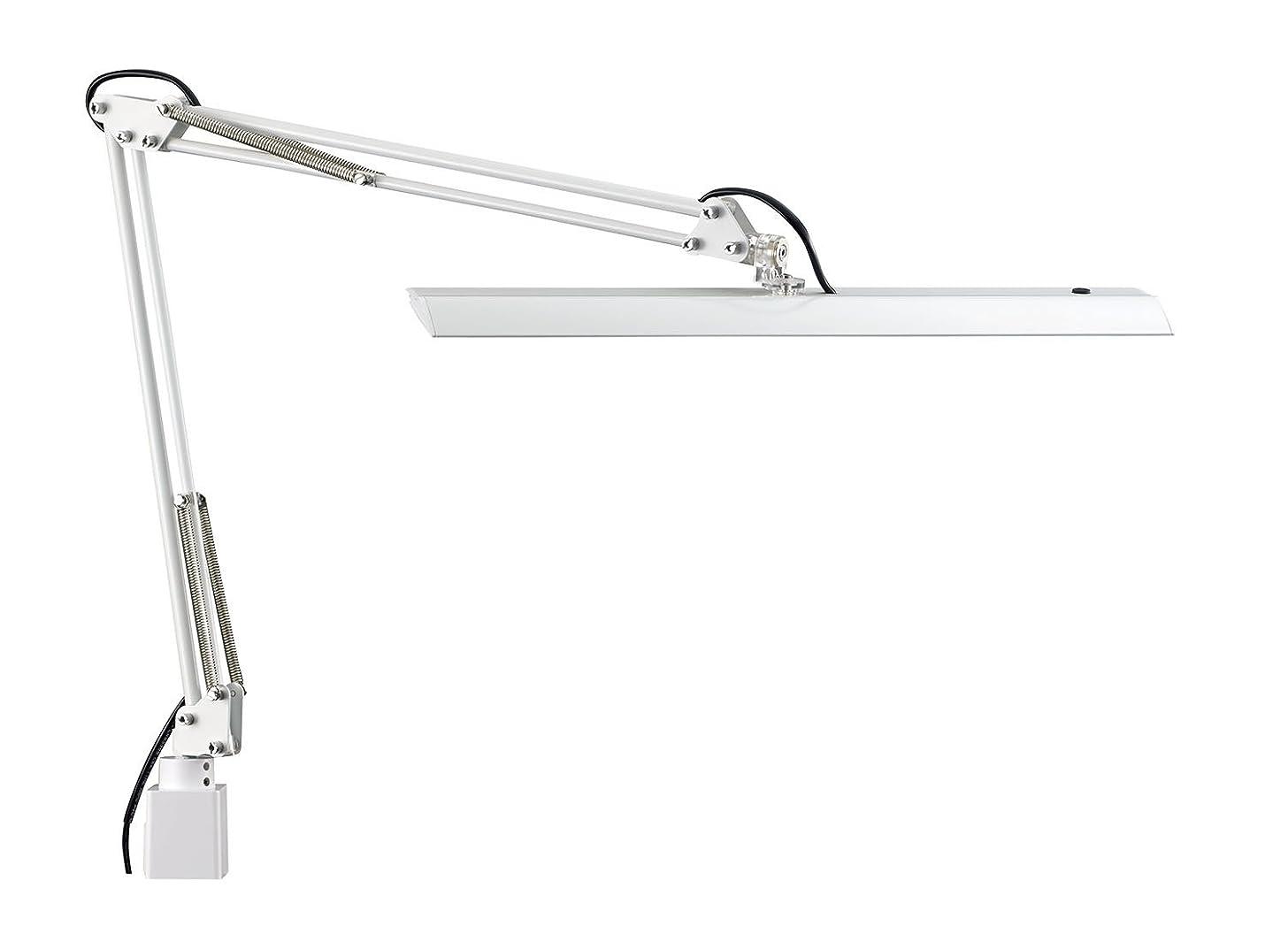 卵不純一時解雇するZ-LIGHT LEDデスクライト Z-10N W ホワイト 明るさ2430Lx 連続調光