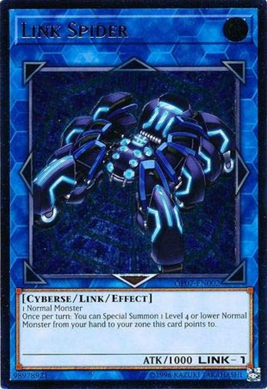 Yu-Gi-Oh! - Link Spider - OP07-EN002 - Ultimate Rare - Unlimited Edition - OTS Tournament Pack 7