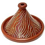 Lorient Tajine NAR Maroc émaillé Ø 30 cm pour 2 à 4 personnes pour la cuisine marocaine | Tajine marocaine, terre cuite orientale