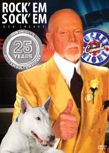 Don Cherry #25 NHL DVD 25th Anniversary Rock'em Sock'em Hockey