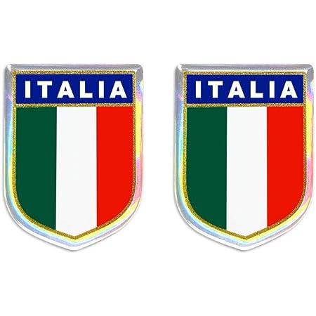 4r Quattroerre It 458 3d Aufkleber Paar Abzeichen Italien Auto