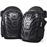 Professional Knee Pads for Work – Breathable Heavy Duty Construction Pads With...