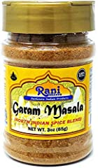 You'll LOVE our Garam Masala by Rani Brand--Here's Why: ❤️️Authentic 11 Spice Blend Garam Masala (unlike many others who use only 6-7 spices to keep costs down). Rani is a family owned USA based company selling spices for over 30 years, buy with conf...