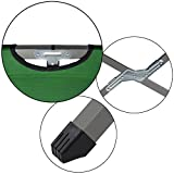 BB Sport Feldbett Klappbett 190 x 64 x 41 cm Stabiles Campingbett bis 120 kg Belastbar Tragbar Tasche Liege Reise Bequem, Farbe:grün - 4