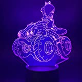 Atvvsovs® Led Night Lights 3D Illusion Bedside Table Lamp 16 Colours Beautiful Girl