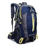Lightweight Hiking Backpack Nylon Waterproof Travel Trekking Camping Travel Hiking Fishing Cycling 40L