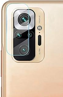 غشاء واقي لعدسة الكاميرا من FTRONGRT لجهاز Xiaomi Redmi Note 10 5G، شفاف، رفيع جدًا، مقاوم للخدش، طبقة واقية من الزجاج الم...