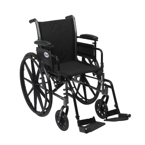 1. Silla de Ruedas Plegable Drive Medical
