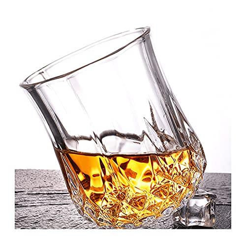 Juego de Regalo de Piedras y Vasos de Whisky Whisky Scotch Bourbon Chilling Stones Regalo para Padre, Papá, Novio,80ml