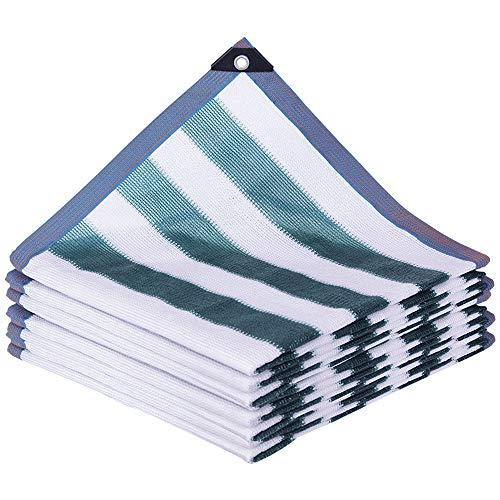 VZXFYG Tela Protector Solar Casa Jardín Pantalla de Tela Espesa la Protección Solar Net Sombra Anti-UV for jardín Patio Pergola Porche toldo o Lona Gazebo (Size : 4mX6m)
