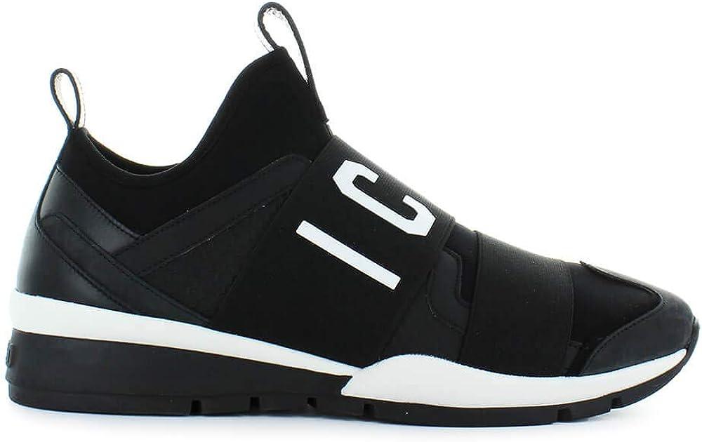 Dsquared2, scarpe da uomo, sneakers icon neoprene ,in neoprene nero con dettagli in pelle, nabuk e pelle gomma DSQUARED2 Icon Sneakers 2124
