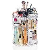Display4top Organizador del Maquillaje 360° Puede-Girar, Caja de almacenamiento de gran capacidad,...