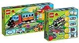 LEGO DUPLO Eisenbahn Set - Eisenbahn Starter Set 10507 und
