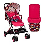 Cosatto Woosh 2 Setas Magic con saco impermeable y barra de parachoques para bebé hasta 25 kg