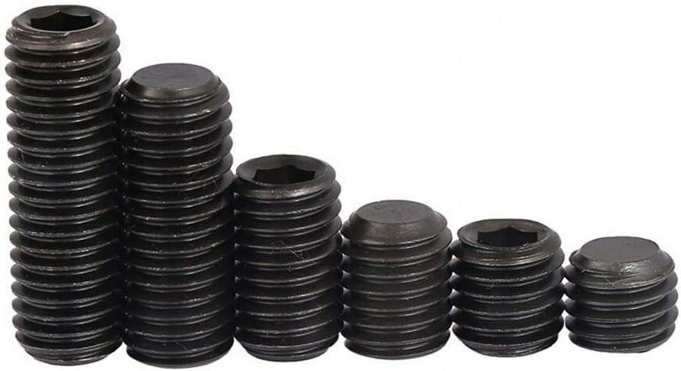 High Tensile 12.9 Grub Topics on TV New Free Shipping Screws Black Set Socket Point Flat