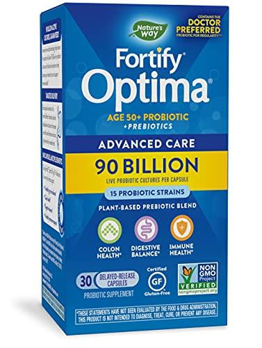 Nature's Way - Primadophilus Optima Max Bifido Active Probiotics 90 Miliardi di CFU - 30 Capsule